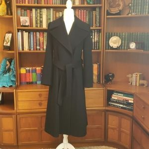 Zara Cashmere Blend Trench Coat
